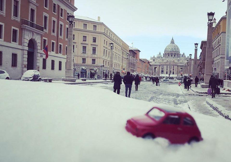 Parkings et zones limitées au trafic à Rome