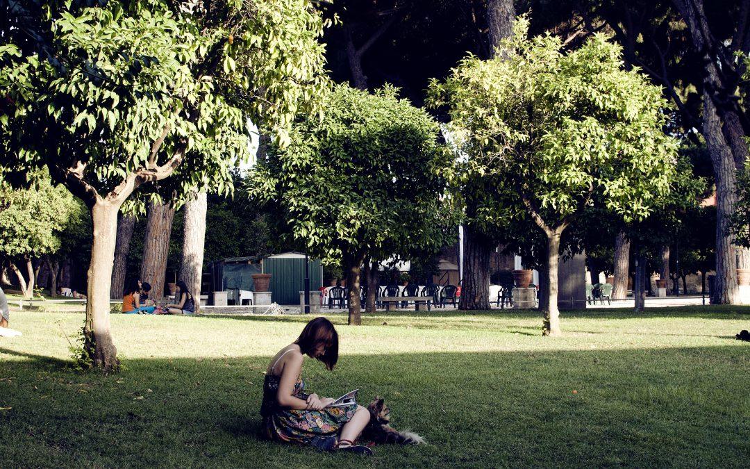 Les parcs immenses de Rome