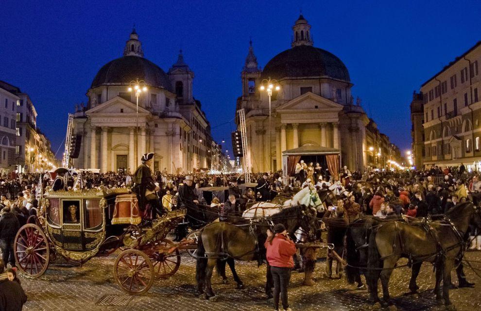 Célébrez le carnaval à Rome