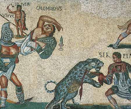 A la rencontre des gladiateurs et auriges