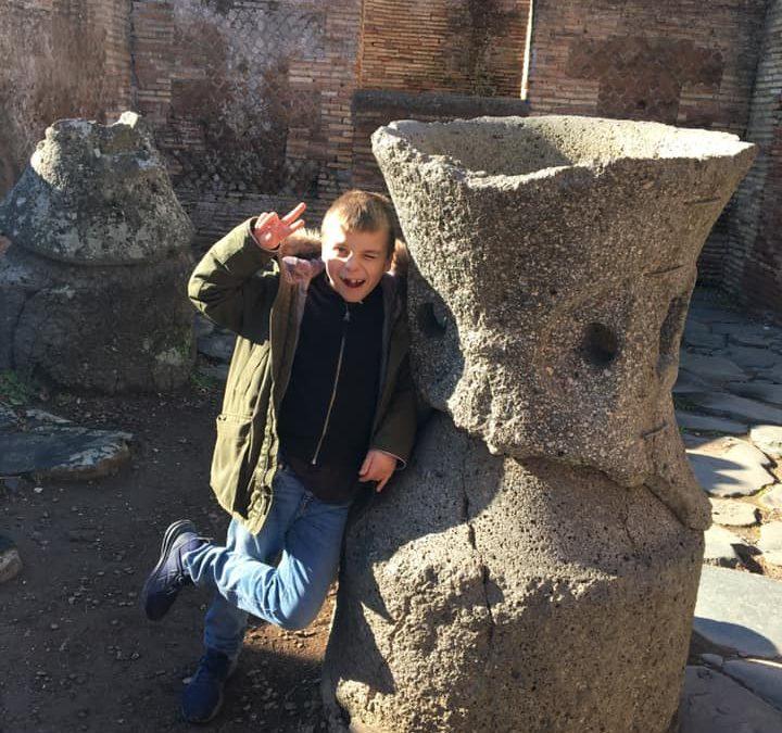 Chasse au trésor à Ostie antique
