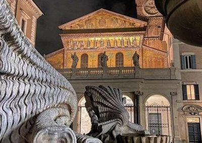 Le quartier Trastevere et île Tibérine
