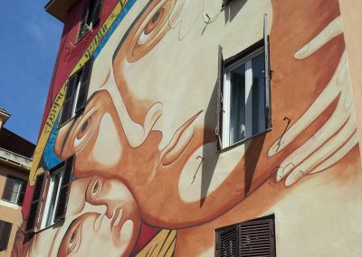 Street art à Rome : visite guidée