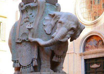 Un zoo de pierre : les animaux de Rome