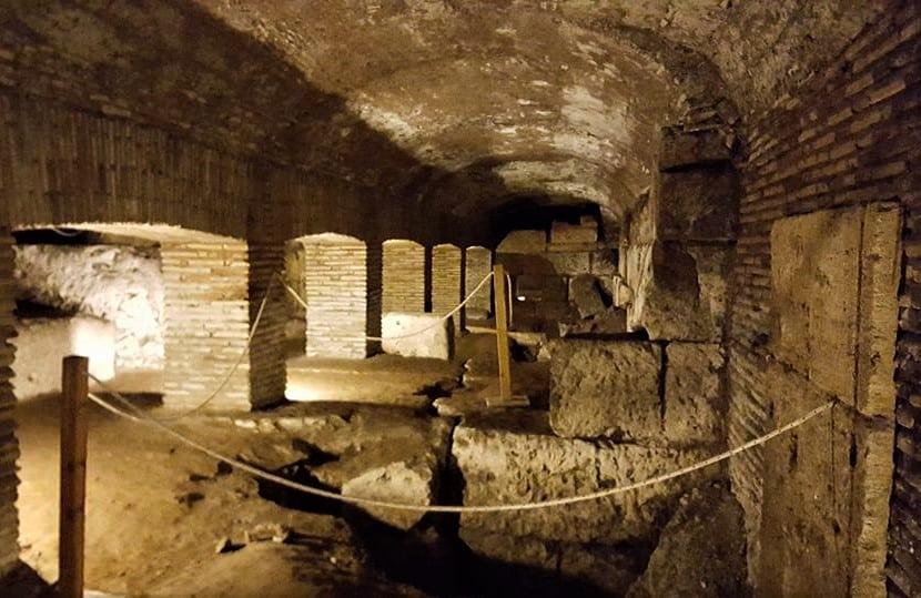 Rome souterraine– visite guidée